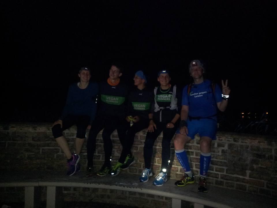 Gruppenfoto - Läuferinnen Etappe 6